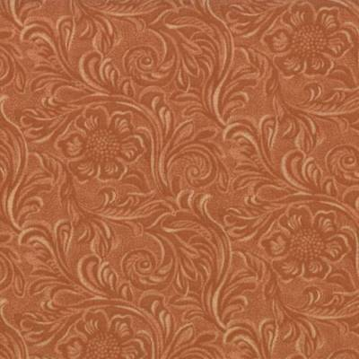 Moda TOOLED LEATHER Brown 11216 15 Fabric By The Yard By Sara Khammash