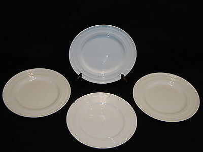 "Tabletops Unlimited TU Studio SHERISE 8 3/8"" SALAD / DESSERT PLATES Lot x 4"