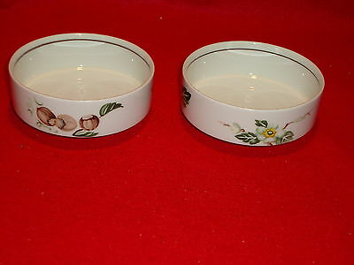 "Villeroy & Boch Luxembourg "" BALI "" 4 3/8 in. Berry Bowls x2 Excellent Condition"