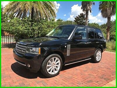 2011 Land Rover Range Rover Supercharged 2011 Supercharged Used 5L V8 32V Automatic 4WD SUV Premium LOW RESERVE