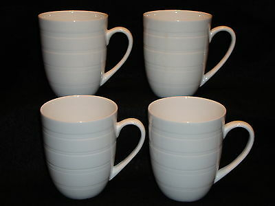 Tabletops Unlimited TU Studio SHERISE Tea COFFEE MUGS Lot x 4 Rings