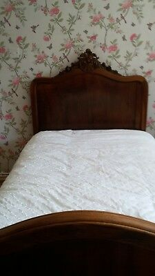 "Antique French 3'6"" Bed"