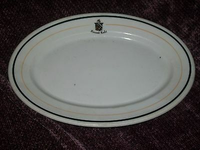 Opco Syracuse china hotel restaurant ware adv side plate platter Forrest Lake
