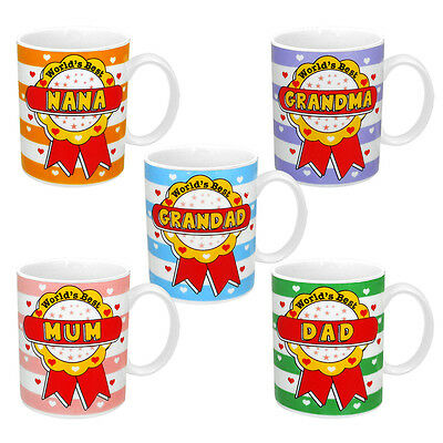World's Best - Selection of Tea/Coffee Ceramic Mugs
