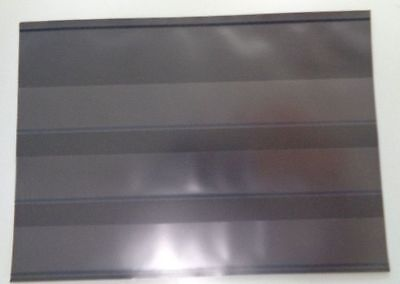 """Hawid 50 New Sales approval cards 3 strip & cover black back 6 1/4"""" x 4 3/8"""""""