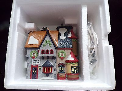 Department 56 Tassy's Mittens & Hassel's Woolies  New  In Box Heritage Village