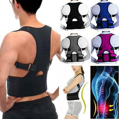 Magnetic Therapy Posture Corrector Body Pain Relief Brace Back Shoulder Support