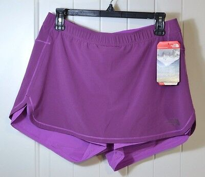 b95879314b Nwt Womens The North Face Runagade Training Athletic Skirt/shorts Skort Sz  M Xl