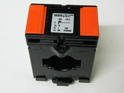 MBS 800A Moulded Case Current Transformer 1X 800/5 15VA DIN mounting