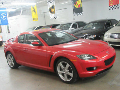 2004 Mazda RX-8 Base Coupe 4-Door 70000 MILES VIDEO CLEAN CARFAX RED ON BLACK AUTOMATIC NONSMOKER FULLY SERVICED