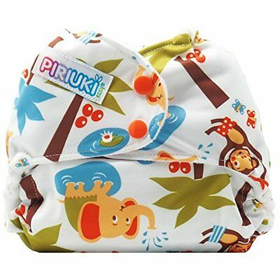 Piriuki Easy All In Pocket Diaper Universal, Into The Jungle