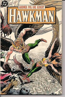 1989 Hawkman TPB by Gardner Fox/Joe Kubert