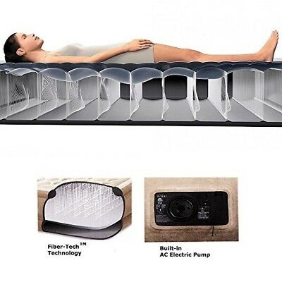 Air Bed double or Single Inflatable (99x191x46 cm) Airlock tested up to 176KG