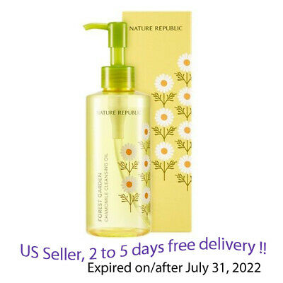 Nature Republic Forest Garden Chamomile Cleansing oil 200ml + Free Gift Sample !