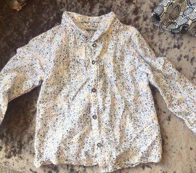 Baby Girls Floral  Blouse/Shirt 12-18 Months. Next. Excellent Condition.