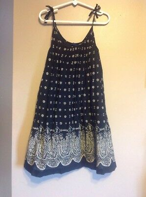 Girls Gap Kids Blue Dress Small 6-7