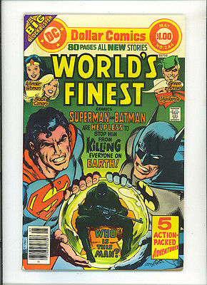 World's Finest 244 1977 Dollar Comic 80 Pages All new Wonder Woman Batman ND DC