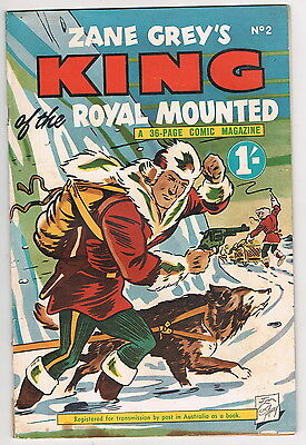 KING OF THE ROYAL MOUNTED No.2 1954   1/-