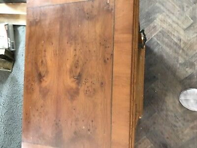 Yew Bedside Cabinet