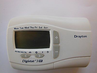 drayton digistat 3rf rf701 wireless thermostat receiver. Black Bedroom Furniture Sets. Home Design Ideas