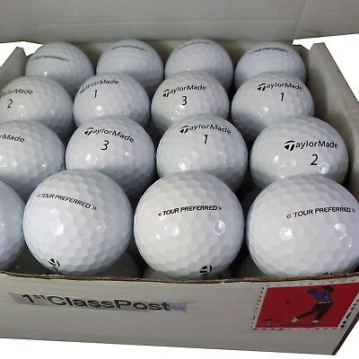 "TaylorMade Tour Preferred or Tour Preferred X Golf Lake Ball ""PEARL/A"" or ""MINT"""