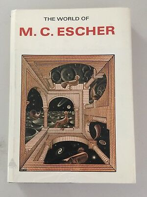 The World of M. C. Escher Hardcover with Jacket 1971
