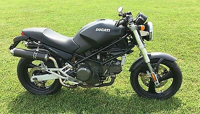 1999 Ducati Monster  1999 DUCATI MONSTER 750 750CC DARK EDITION MOTORCYCLE WITH TITLE