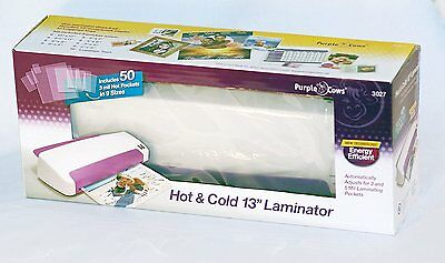 """Purple Cows Laminator - 13"""" for oversized projects - NEW factory sealed"""