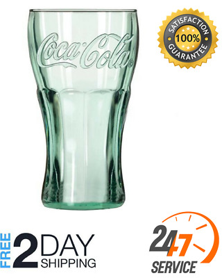 Libbey 16.75 oz Coca Cola Glass Tumblers Set Of 12 Drink Party Home Retro NEW