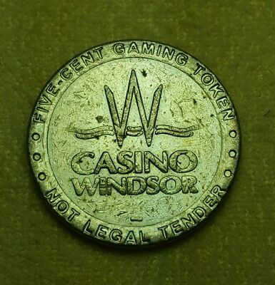 5 Cent Casino Slot Token: Windsor Casino