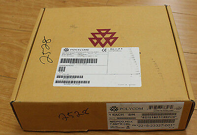 NEW Polycom HDX Microphone 2215-23327-001 Micpod HDX with 7.6M Cable