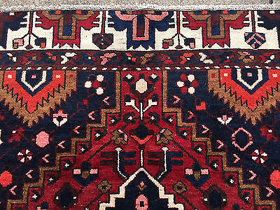 7x10 HAND KNOTTED PERSIAN IRAN HERIZ RUG ANTIQUE WOVEN MADE 7 x 10 wool rugs 6 9