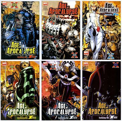 Age Of Apocalypse (2005) #1-6 Set Full Series First Print Marvel Comics Vf/nm