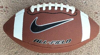 Nike ALL FIELD PEE WEE GRIDIRON BALL Leather Cover & Laces *USA Brand