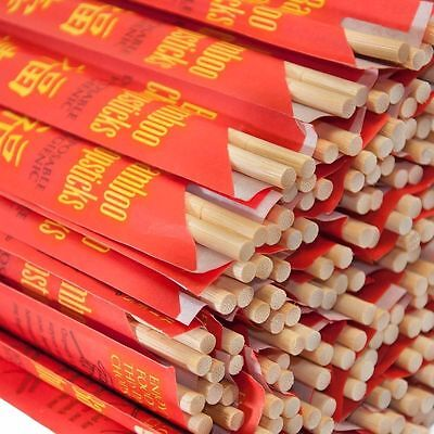 "USA Seller Asian Bamboo Chopsticks 9"" 10 Pair to 1000 Pair Free Shipping US Only"