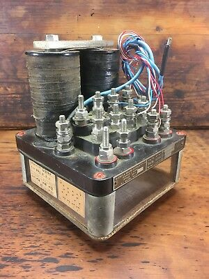 c.1940's VICRAIL V.R MCKENZIE & HOLLAND MELB TRAIN SWITCH SIGNAL NEUTRAL RELAY