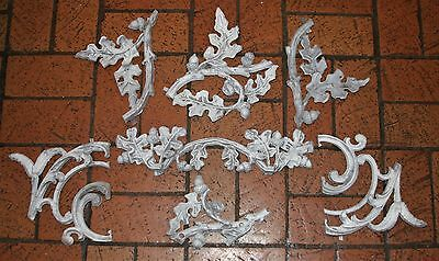 Architectural Salvage Decorative 7 Metal Fragments Garden