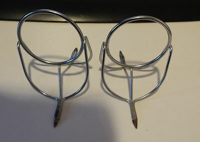 Vintage Chrome Fishing rod Guides size 50 x2, New old Stock.