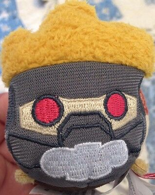 "Rocket Guardians Of The Galaxy  Disney Mini Tsum-3 1/2"" New With Tag From Target"