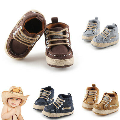 Baby boy Shoes Infant Newborn Soft Casual Canvas Shoes Boots Sport Sneakers