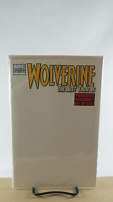 Wolverine Best There Is #1 Blank Variant Cover Marvel Comics 2010