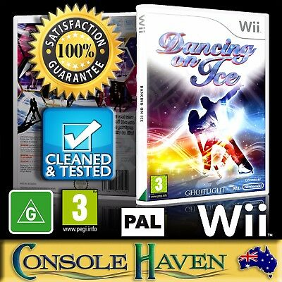 (Wii Game) Dancing On Ice (G) (Sports: Ice Skating / Dance) PAL, Guaranteed