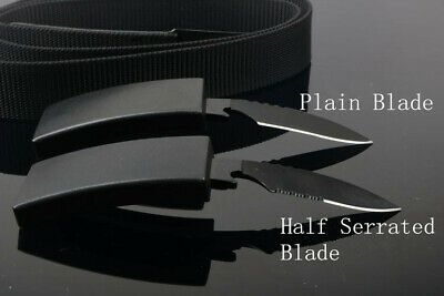 New Nylon Fixed Blade knife Tactical Outdoor Camping Hunting Survival Tools Gift