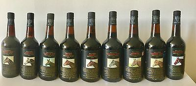 9 Bottle Collection - Rare Release Yalumba Thoroughbred Series Vintage Ports
