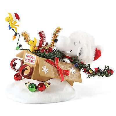 Peanuts Snoopy Woodstock One-Bird Open Sleigh Clothtique