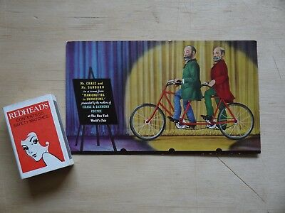 (F1P9) 1939 NY World's Fair 'Chase & Sanborn Marionettes in Swingtime' Adv Card