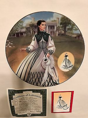 Gone With The Wind 1993 COSTUMING OF A LEGEND Bradford Exchange Plate Collection