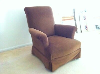 Antique Wing Back Arm Chair