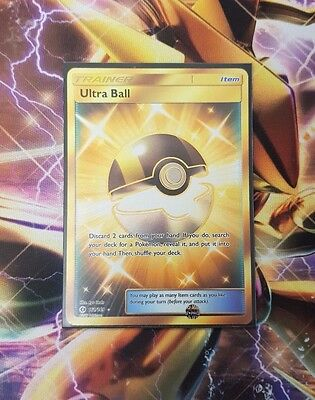 Ultra Ball Secret Rare - 161/149 Sun and Moon