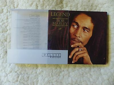 2 CD Box Legend The best of Bob Marley  and the Wailers Deluxe Edition 2002 N.Y.